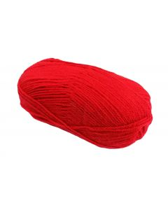 100g Ball of Double Knit Wool Red