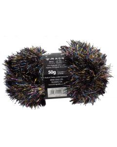 50g Ball of Tinsel Chunky Cocktail Multi Coloured Wool