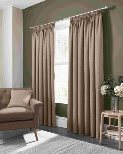 Studio G Elba linen Pencil Pleat Curtains