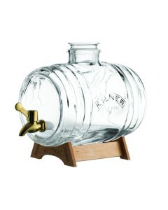 Kilner Glass Barrell Drinks Dispenser Set 3.5 L