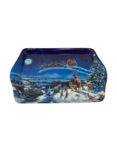 Macneil Magic Of Christmas Small Snack Tray