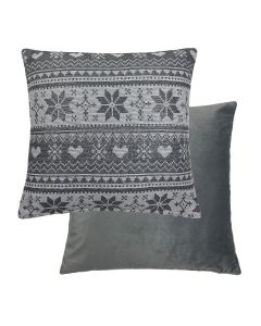 "Love Snow Cushion 18"" - 45cm"