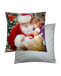 "Santa/Child Cushion 18"" - 45cm"