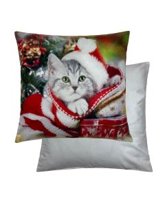 "Cat Cushion 18"" - 45cm"