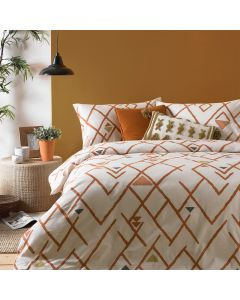 Furn Inka Brick Duvet Cover Set