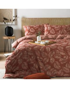 Furn Japandi Red Clay Duvet Cover Set