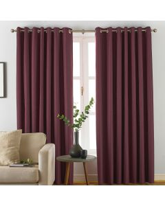 Furn Moon Berry Eyelet Curtain