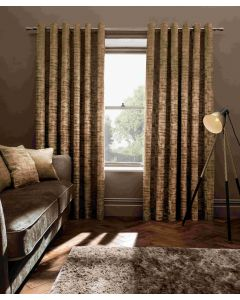 Studio G Naples Gold Ring Top Curtains