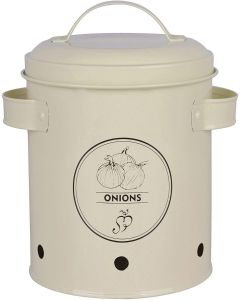Esschert Designs Onions Storage Tin