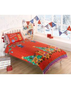 Reindeers Single Duvet Cover