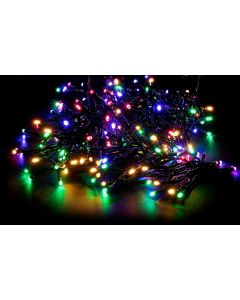 600 Warm Coloured Multi-Function L.E.D. Outdoor Christmas Lights