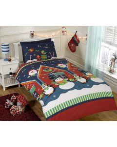 Santa's Grotto Single Duvet Cover