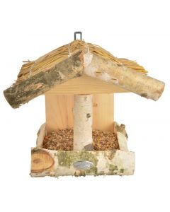 Esschert Design Silver Birch Wall Bird Feeder