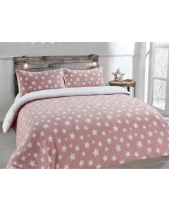 Teddy Stars Blush Duvet Cover