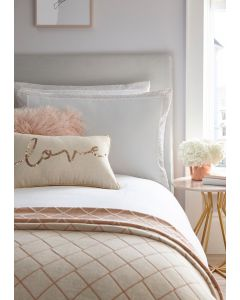 Tess Daly Amber Rose Gold Oxford Pillowcase Pair