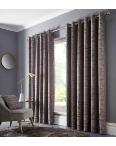 Studio G Topia Charcoal Ring Top Curtains