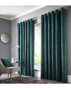 Studio G Topia Emerald Ring Top Curtains