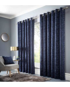 Studio G Topia Ink Ring Top Curtains